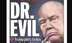 Donald Trump Is Dr. Evil On Latest Cover Of New York Daily News   The Huffington Post