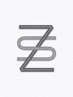 Monograms Monogram Design s z zs sz  Logos and Marks — Sophia Brown