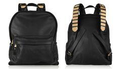 Sophie Hulme Embellished Leather Backpack