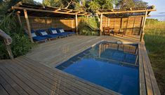 Camp amongst the trees (Mike Myers) Okavango Delta, Plunge Pool, African Safari, Beautiful Islands, Wildlife, Camping, River, Outdoor Decor, Trees