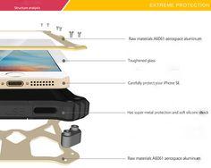 Love Mei MK2 iPhone SE Protective Case