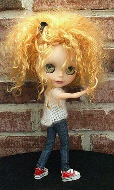 Blythe Curly Hair