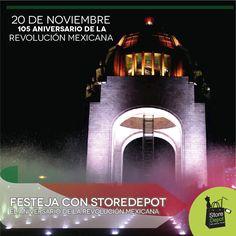 ¡Hoy conmemoramos el Día de la Revolución Mexicana!