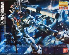 MG 1/100 RX-78-2 Gundam Ver. 3.0 Box Art