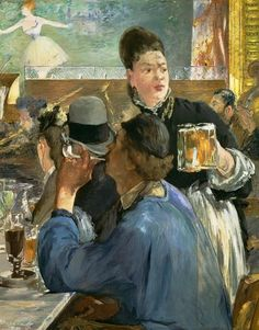 Edouard Manet - The beer waitress