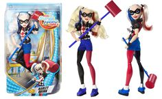 """DC Super Hero Girls Harley Quinn 12"""" Action Doll - This Harley Quinn action doll is sure to be a hit with kids this year."""