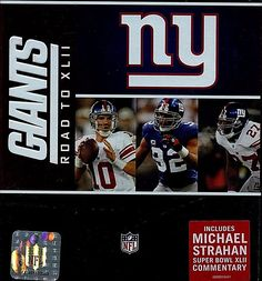 New York Giants NFL The Road to Super Bowl XLII NEW HOLOGRAM PROOF FREE S H US | DVDs & Movies, DVDs & Blu-ray Discs | eBay!