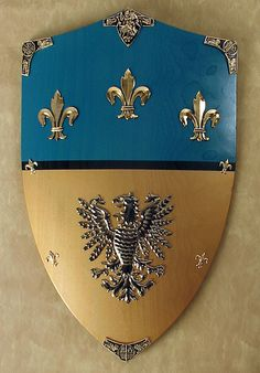 The Kite Shield of Charlemagne - Charlemagne greatly expanded the Frankish empire during his reign.