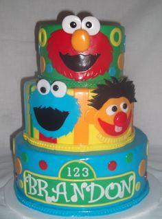 I would love to make a Sesame Street cake