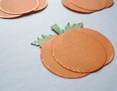 pumpkins with circle punches easy crafts by jami