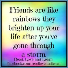 Friendship Quote Via www.Facebook.com/Readloveandlearn