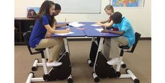 Move Over Standing Desks: Kids Learn Better with Pedal Desks  http://www.bicycling.com/training/health-injuries/move-over-standing-desks-kids-learn-better-pedal-desks