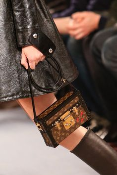 need...want...little trunk purse... Louis Vuitton | Fall 2014 Ready-to-Wear Collection | Style.com