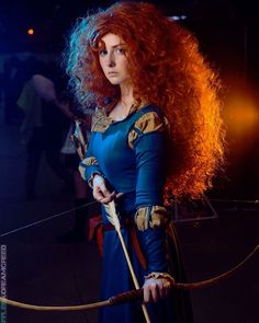 This Merida cosplay by Anna Berten has to be one of the greatest Merida cosplay I've ever seen! She's just perfect! Photo (above) by Egor Demidov. All other