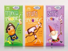 Packaging of the World: Creative Package Design Archive and Gallery: Don Simon Smoothie (Concept)