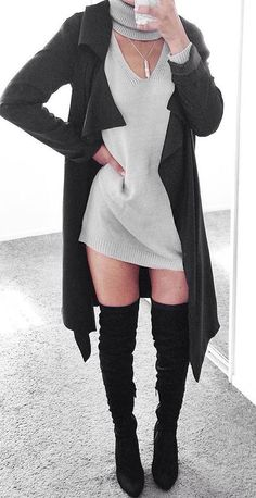 the sweater dress weather