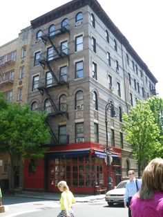 Friends apartment (tv show) West Village, NYC