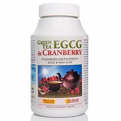 Andrew Lessman Green Tea EGCG and Cranberry