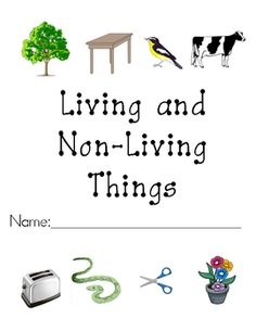 Worksheets to support a mini-unit on living and non-living things. Items included: a cut and paste picture sort, vocabulary worksheets, and an asse...