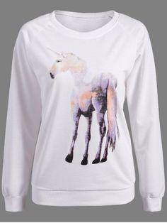 GET $50 NOW | Join RoseGal: Get YOUR $50 NOW!http://www.rosegal.com/sweatshirts-hoodies/unicorn-print-pullover-sweatshirt-844370.html?seid=7345709rg844370