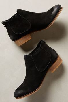 House of Harlow Blaire Booties Black #anthrofave