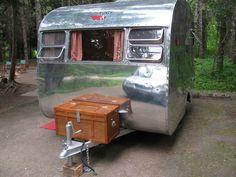 Very RARE 1950 Kenskill 10' Vintage Canned Ham Travel Trailer | eBay