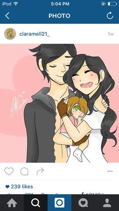 Aaron, Aphmau and Lilith <3 AND SOON TO BE THE NEW BABY!!!!!!!!!!!!!!! If it's a boy names I suggest are, Jake, Jacob, or Aaron