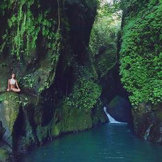 22 beautiful hidden natural attractions in Bali, Indonesia. Don't forget when traveling that electronic pickpockets are everywhere. Always stay protected with an Rfid Blocking travel wallet. https://igogeer.com for more information. #igogeer
