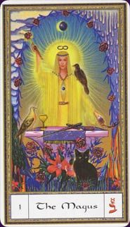 June 10 Tarot Card: The Magician (Gendron deck) There's more power in you than you tend to acknowledge; take a moment to appreciate the emotional and spiritual strengths of your heart now Wiccan, Magick, True Tarot, Le Bateleur, The Magician Tarot, Witchcraft Books, Tarot Major Arcana, Oracle Tarot, Tarot Card Meanings