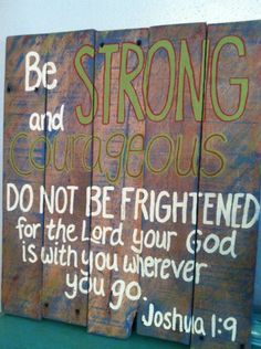I love this verse. But, I would do this in different colors and fonts.