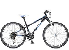 Sport Kids: Superfly 24. Trek Kids' mountain bikes are the real deal, with light frames, knobby tires, quality parts, durable construction, and Dialed adjustable components that can grow with young riders.