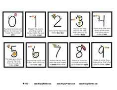 Number writing poems pinteres number formation poems some of these are the exact ones i learned in pre spiritdancerdesigns Images