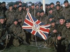 FALKLANDS June 14th 1982 The Royal Marines Recaptured the Government House
