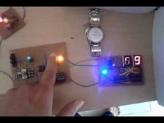 Time operated relay circuit is build using IC555. To display the time period in seconds 2-digit decade counter is build using CD4026 chip. Another IC555 is used to provide 1 Hz pulse to update time period after every 1 sec.