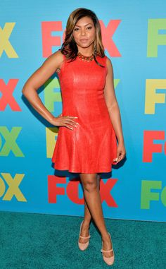 Red Hot Leather from Taraji P. Henson's Best Looks