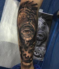 ★☆ World of Tattoo ☆★work by Ezequiel Samuraii ; Barcelona-Spain