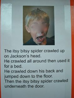 Itsy Bitsy Spider Class Book