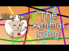 Engels liedje voor kleuters; The Animal Song