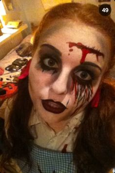 Ooooh, last year, I suppose. I was a cannibalisic/zombie-ish ...