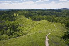 loess hills   prairie and invasive forest in the loess hills iowa 1