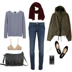 """weekday"" by sthorson on Polyvore"