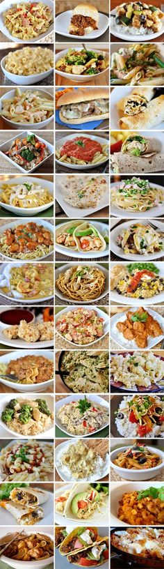 39 Meals to Make in 30-Minutes or less: like skillet lasagna, BBQ chicken pasta, Parmesan chicken nuggets, shredded tacos & more. Great for unexpected company.