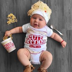 30 halloween costume ideas for kids girls!Boys and girls become what they want to be with these creative homemade Halloween costume ideas. Whether they want to be terrifyingly spooky a superhero . Cute Baby Halloween Costumes, Toddler Costumes, Baby Halloween Costumes For Boys, Babies In Costumes, Baby Girl Costumes, Funny Baby Halloween Costumes, Diy Costumes, Baby Puppy Costume, Homemade Baby Costumes