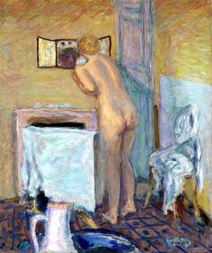 Pierre Bonnard / Nude before a Mirror, 1915