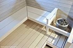 Image result for saunan taso lauteet Finnish Sauna, Sauna Room, Spa Rooms, New Homes, Relax, Saunas, Places, House, Koti