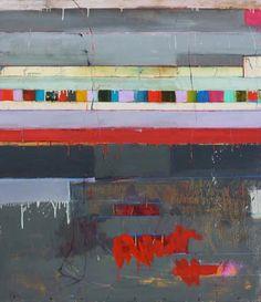Chris Gwaltney, Untitled, oil/alkyd on linen, 65 x 57
