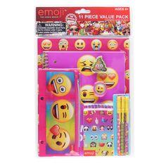 Emoji Stationery Set