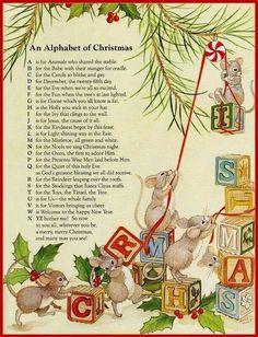 An alphabet of Christmas
