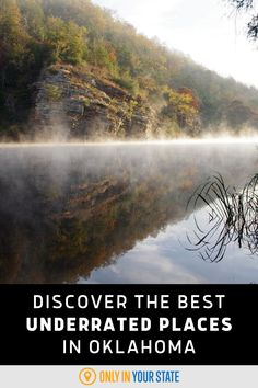 Discover hidden gems and underrated places in Oklahoma including museums, parks, nature preserves, restaurants, and more. Places To Travel, Travel Destinations, Best Bucket List, Hidden Beach, Spring Nature, Swimming Holes, Natural Wonders, Hiking Trails, Museums