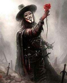 V – V for Vendetta fan art by Austen Mengler Joker Images, Joker Pics, Dark Fantasy Art, Dark Art, V For Vendetta Tattoo, V Pour Vendetta, V For Vendetta Comic, Vintage Wallpaper, Hacker Wallpaper